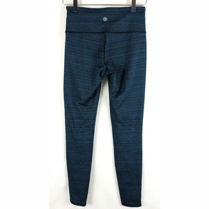 ATHLETA Textured Lined Leggings Athletic Pants